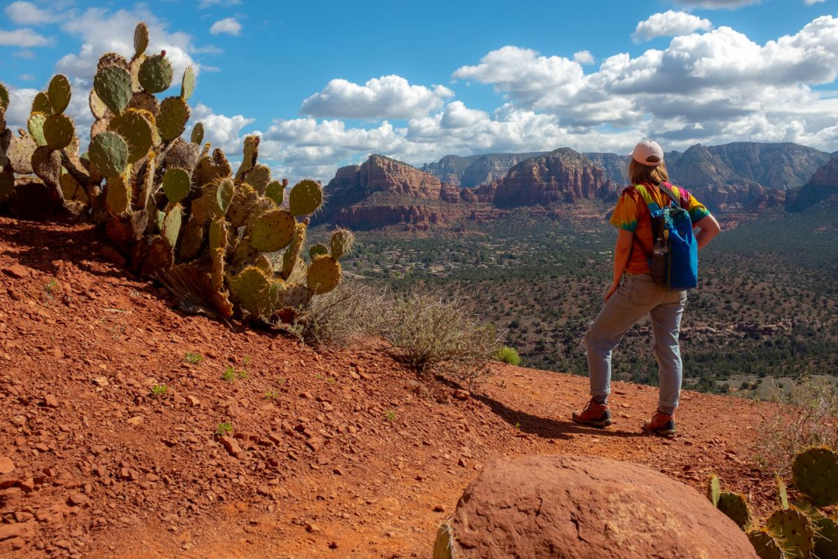 EPS student on geology field trip to Arizona